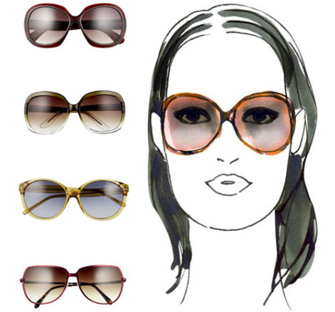 e10251f1300 La forme de votre visage est à prendre largement en considération lors du  choix de vos monture de lunettes de soleil.